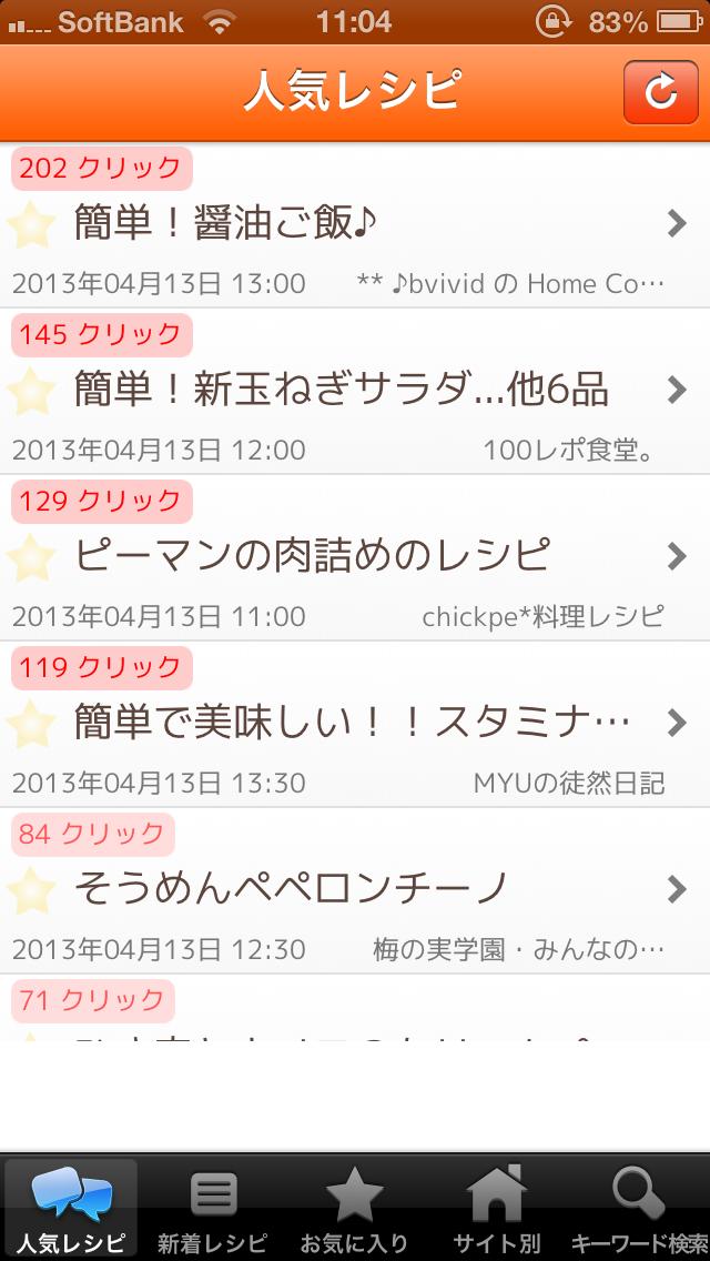 レシピまとめ 人気レシピページ