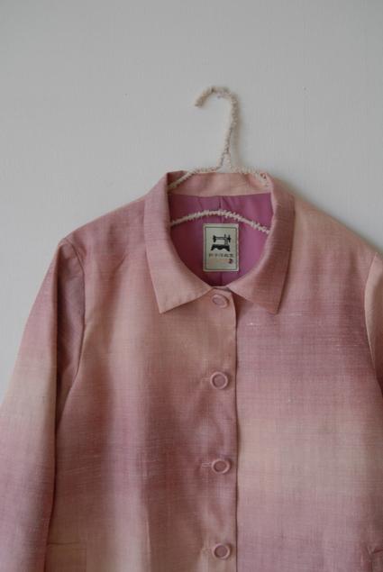 着物リメイク・紬のジャケット&ブラウス_d0127925_1253353.jpg