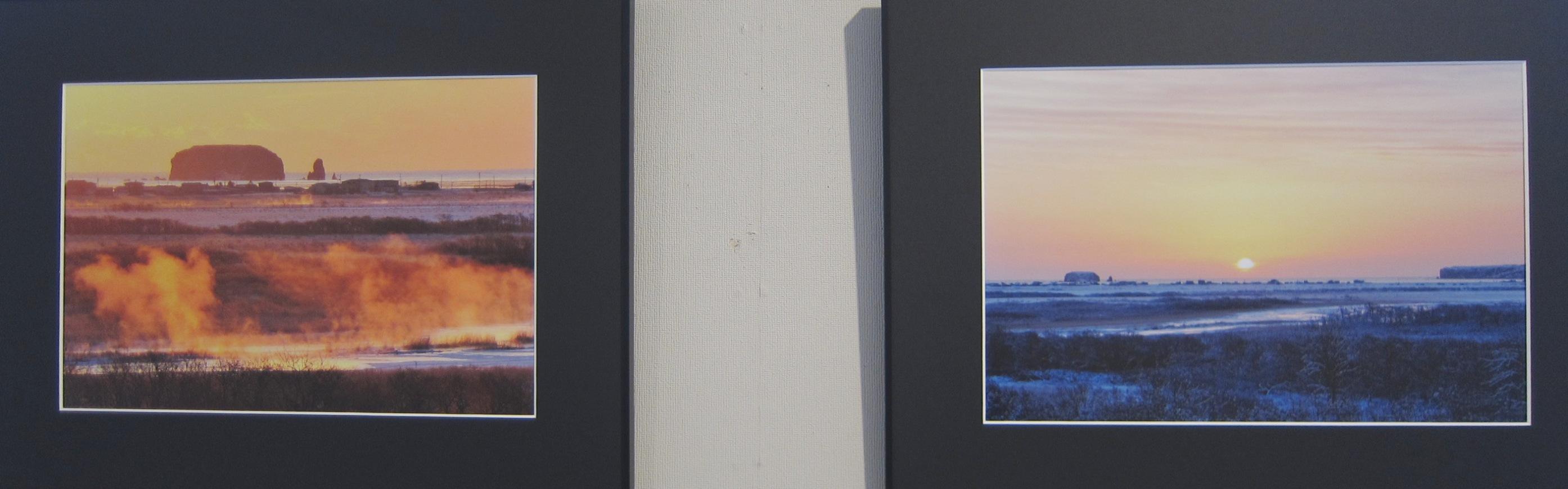 2014)「大坪俊裕 写真作品集 『枯白凛 ~霧多布湿原 秋冬~』」 資料館 4月9日(火)~4月14日(日)_f0126829_2030744.jpg