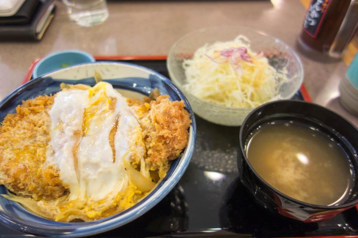ロースかつ丼 【いなば和幸 京王八王子店】 2