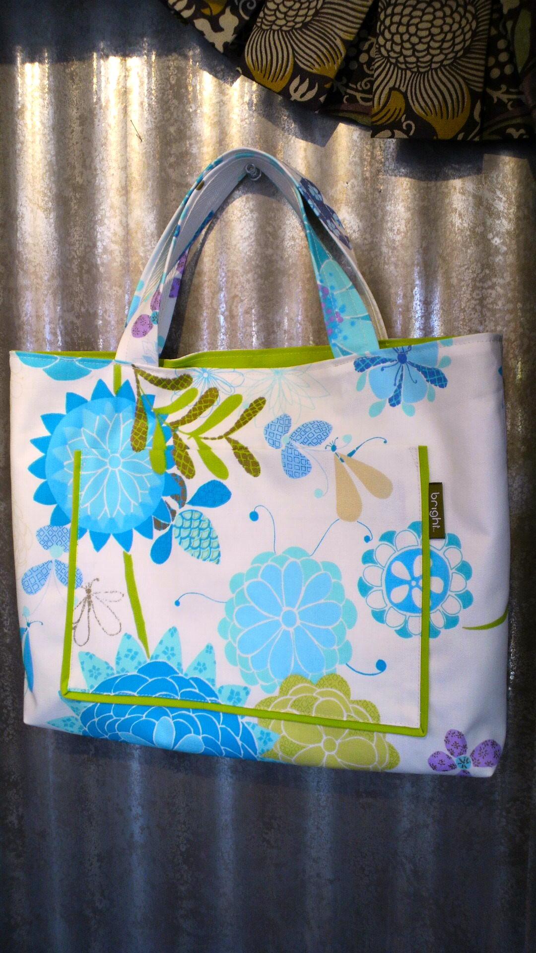 カーテン生地で作る、子供用の布バッグ。_c0157866_12452029.jpg