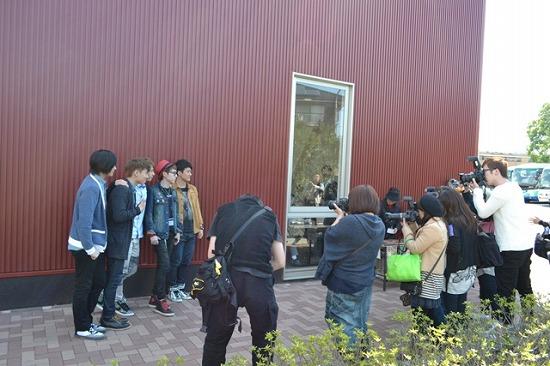 SHU-I 人生初のイチゴ狩りをファンと体験!_e0197970_14565668.jpg