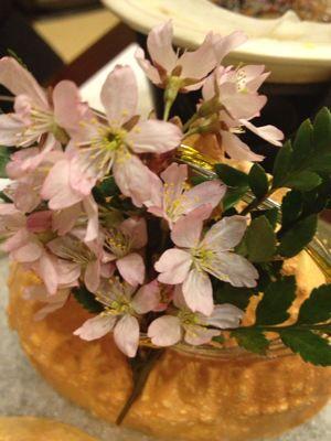食卓で花見_a0134394_19525152.jpg