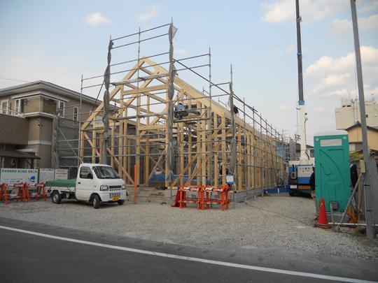 掛川教会 上棟_d0067498_1212586.jpg