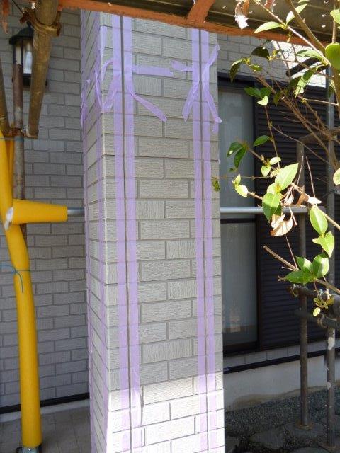 外壁・屋根の塗替えを始めています2(神奈川県秦野市)_e0207151_2013129.jpg