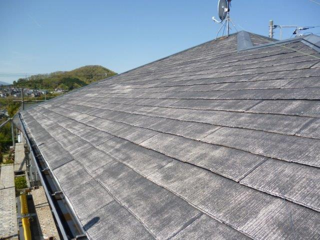外壁・屋根の塗替えを始めています2(神奈川県秦野市)_e0207151_2063810.jpg