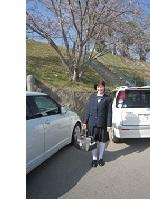 娘の高校の入学式でした。_a0298652_138672.jpg
