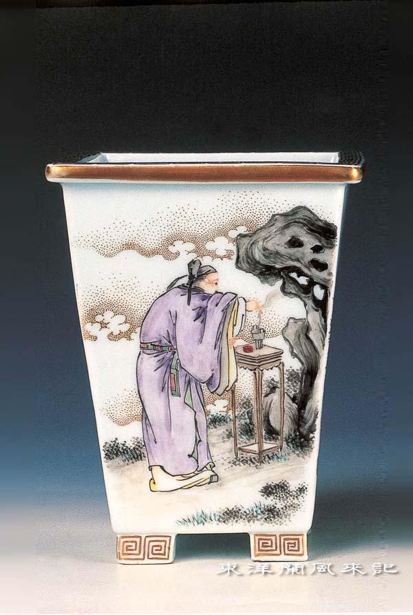 東洋蘭鉢「大日本幹山蘭鉢」             No.473_b0034163_18553748.jpg