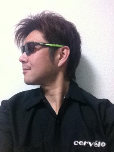 金栄堂サポート:TeamLogistyJack 善波昭選手アイウェアインプレッション!_c0003493_9484349.jpg
