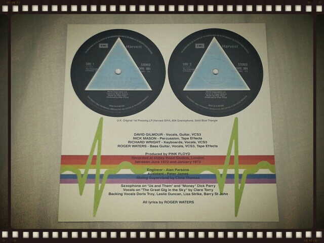 PINK FLOYD / THE DARK SIDE OF THE MOON BLUE TRIANGLE_b0042308_094029.jpg