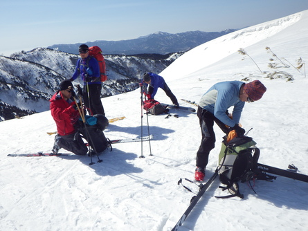 山スキーを振り返り (3月5日分)_f0101226_22183379.jpg