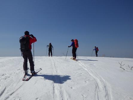 山スキーを振り返り (3月5日分)_f0101226_22211726.jpg