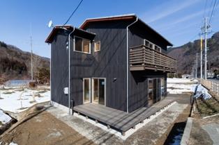 生坂の住宅 ~ウッドデッキ_e0180332_19541360.jpg
