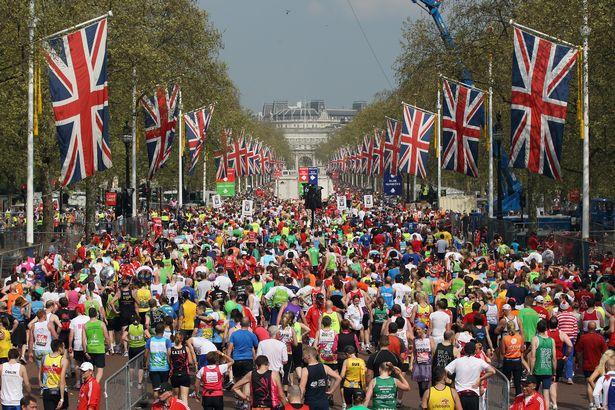 ... ロンドンマラソンは