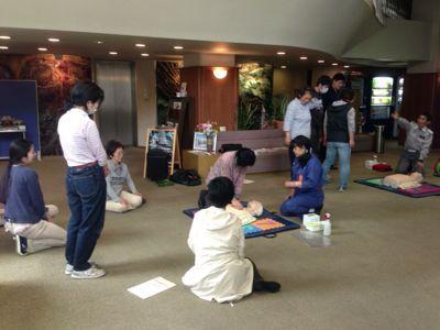 AED講習会開催_b0164894_1652625.jpg