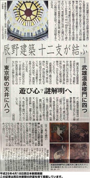 東京駅に足りない干支が、武雄温泉楼門に_d0047811_21315839.jpg