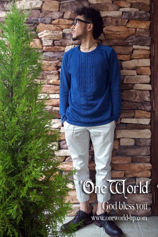 Summer knit × Cropped pt…JKT_a0155932_18103855.jpg