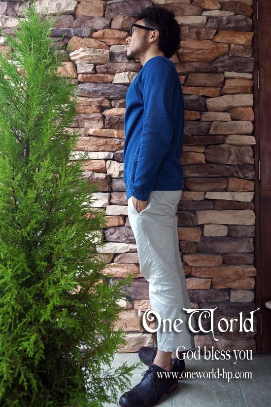 Summer knit × Cropped pt…JKT_a0155932_18123937.jpg