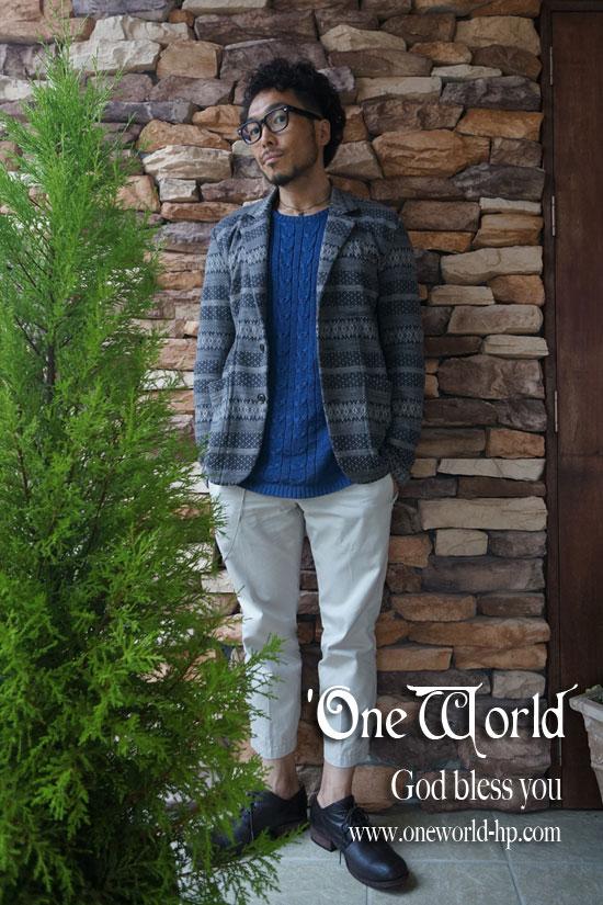 Summer knit × Cropped pt…JKT_a0155932_18204777.jpg