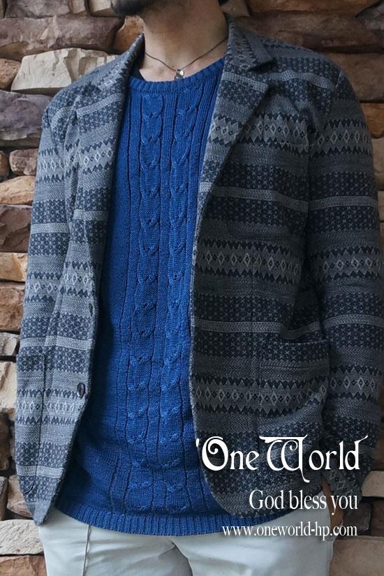 Summer knit × Cropped pt…JKT_a0155932_18283975.jpg