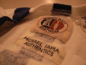 "\""MIGHTY-MAC × MiCHAEL TAPiA AUTHENTiCS PILE BOAT NECK SHIRTS\""ってこんなこと。_c0140560_1282551.jpg"