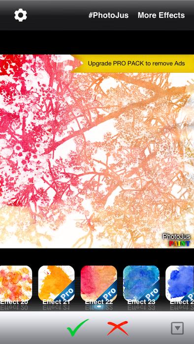 1+ PhotoJus Paint FX スクリーンショット5