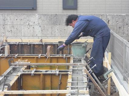 基礎コンクリート打設_a0148909_18113053.jpg