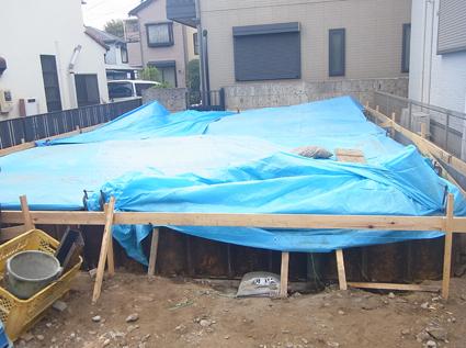 基礎コンクリート打設_a0148909_18114116.jpg