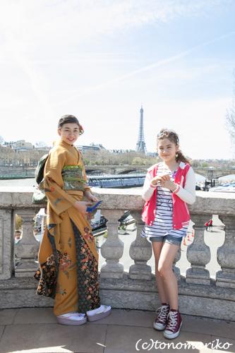 パリで「十三参り」 サル姉妹編_c0024345_5213516.jpg