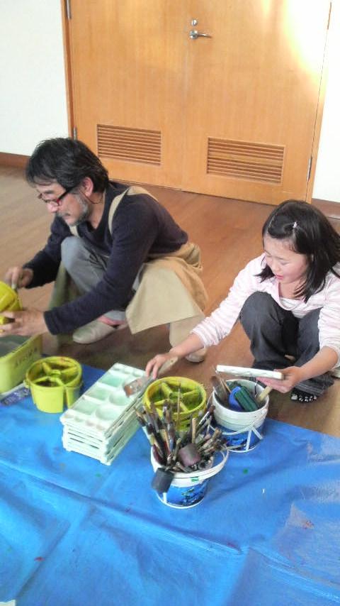 田原台教室で竹の子を描きました! : あすなろ絵画研究所    元気な子ども達と絵を描いたり、工作をしたり…とても楽しいお絵かき教室です