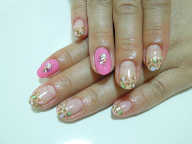 Colorful Leopard Nail_a0239065_122332100.jpg