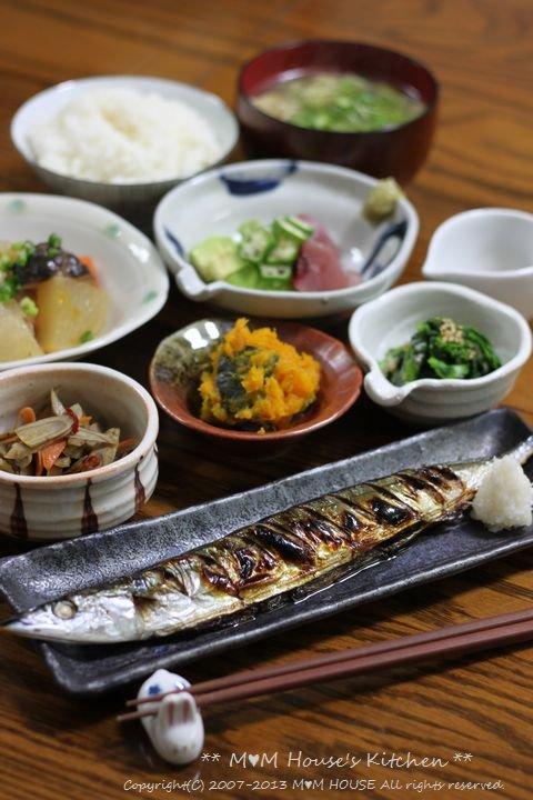 久しぶりに魚 ☆ 今日のお弁当と昨日の晩ご飯♪_c0139375_1326248.jpg