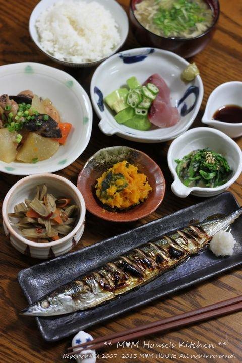 久しぶりに魚 ☆ 今日のお弁当と昨日の晩ご飯♪_c0139375_13272622.jpg