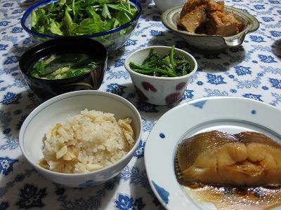 牛肉炒め、煮魚♪_f0116812_9382151.jpg