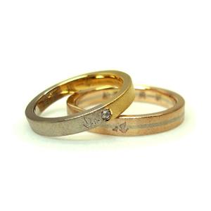 ご結婚5周年のマリッジリング_e0131432_17171250.jpg