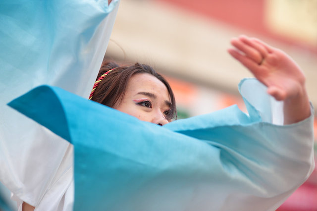浜松がんこ祭(通称浜よさ)2013 狼煙_b0166390_2224093.jpg