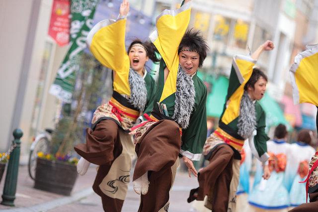 浜松がんこ祭(通称浜よさ)2013 狼煙_b0166390_22241541.jpg