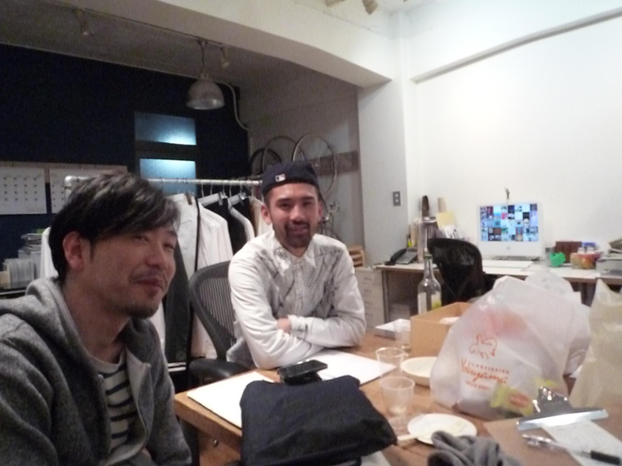 Yuya TakateのシャツとANDANTEANDANTEのブラウス_f0180307_15335441.jpg