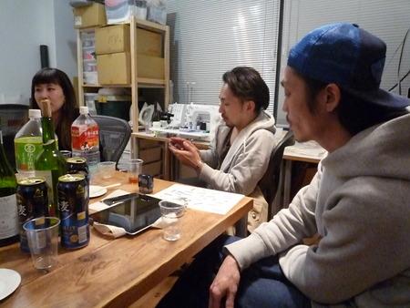 Yuya TakateのシャツとANDANTEANDANTEのブラウス_f0180307_15341168.jpg