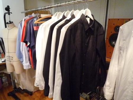 Yuya TakateのシャツとANDANTEANDANTEのブラウス_f0180307_1626332.jpg