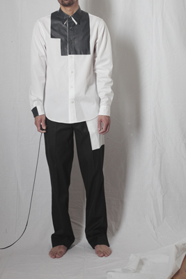 Yuya TakateのシャツとANDANTEANDANTEのブラウス_f0180307_1826529.jpg