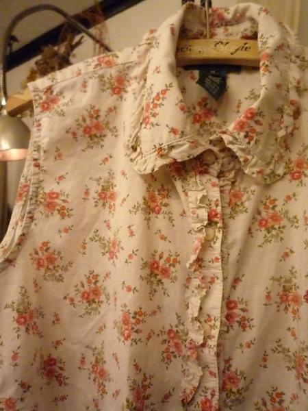 Yuya TakateのシャツとANDANTEANDANTEのブラウス_f0180307_222494.jpg