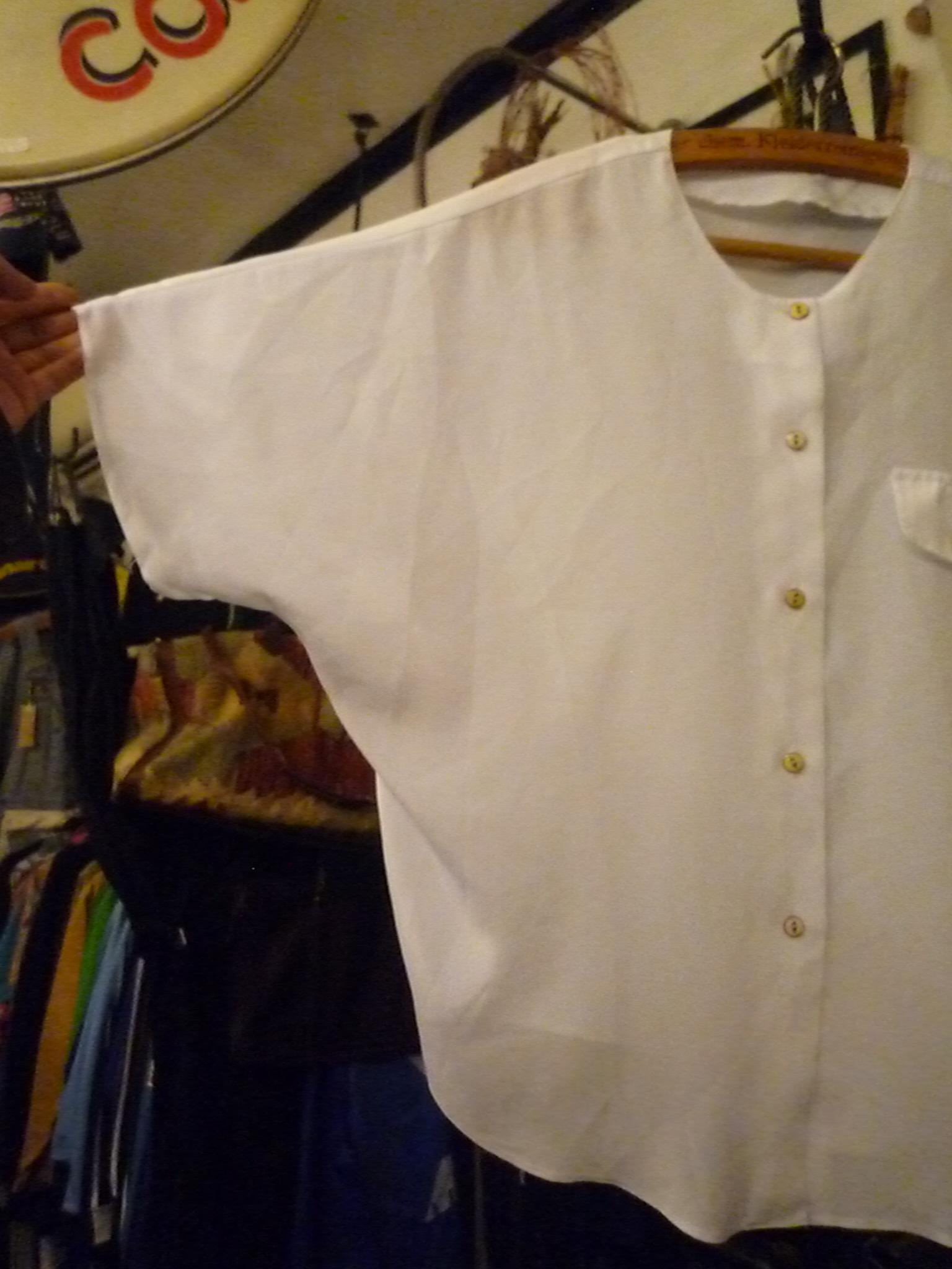 Yuya TakateのシャツとANDANTEANDANTEのブラウス_f0180307_22251518.jpg