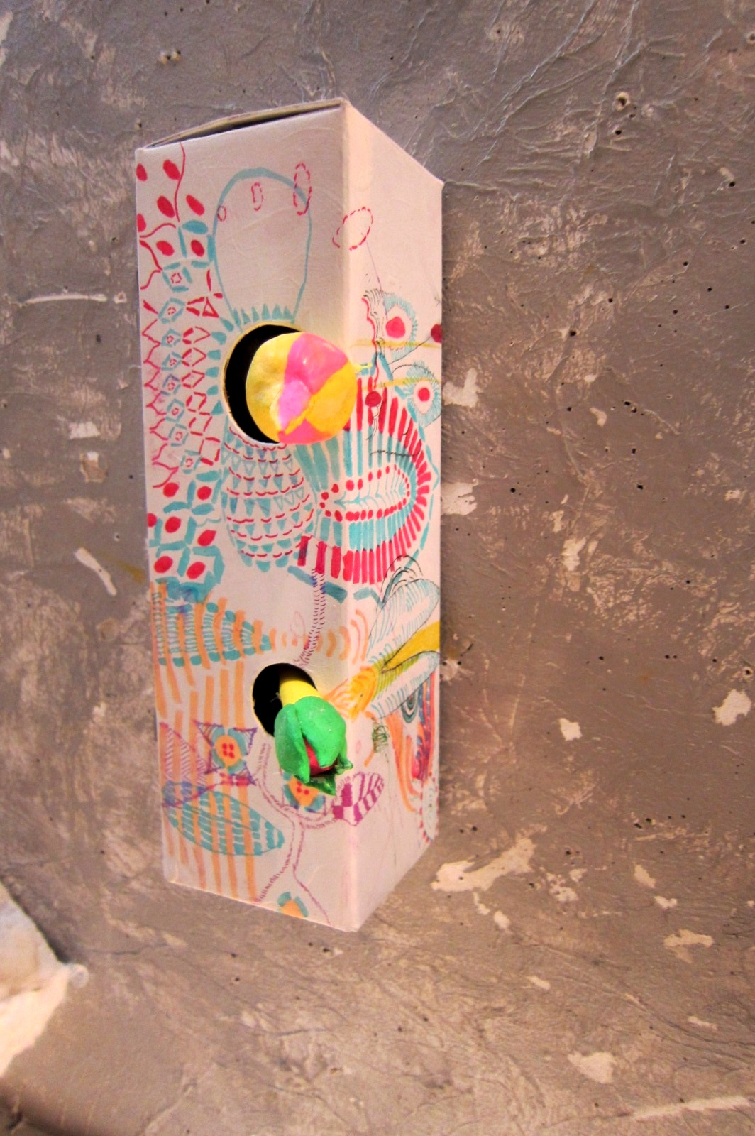 2020) 「jobin. とpaterの二人展 『ハルナデ展2013』」 ニュー・スター 4月15 日(月)~4月29日(日)  _f0126829_1201567.jpg