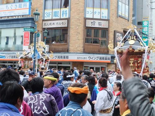 大岡越前祭...雨も止みパレードが_b0137932_16423549.jpg