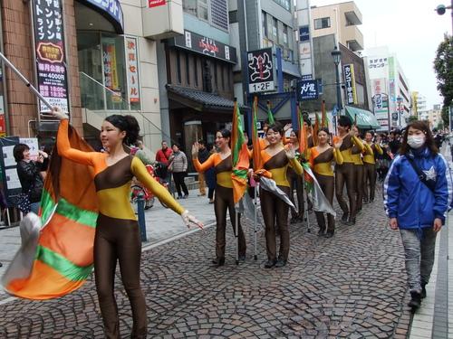 大岡越前祭...雨も止みパレードが_b0137932_1646761.jpg
