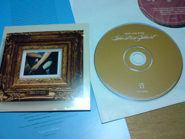 本日到着レコ  〜 Ghost On Ghost / Iron And Wine_c0104445_21341556.jpg