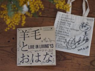 羊毛とおはな-LIVE IN LIVING \'13-_b0178548_10344194.jpg