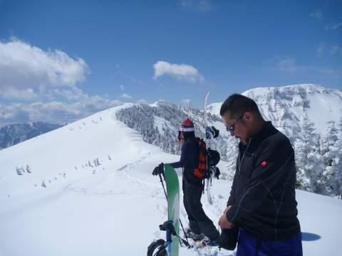 【滑走レポ 2013.4.11】 ラストパウダーを狙って@かぐら_e0037849_7441553.jpg