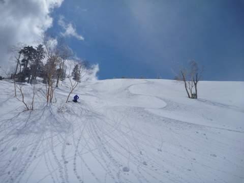【滑走レポ 2013.4.11】 ラストパウダーを狙って@かぐら_e0037849_753621.jpg